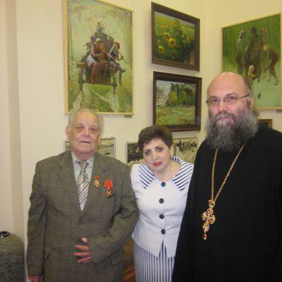 2. Поздравление Н.Н.Кутепова с награждением Орденом Святой Анны 3 степени.