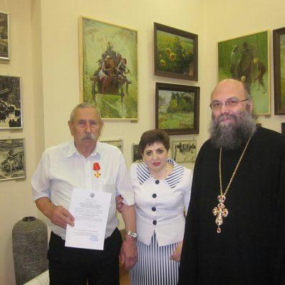 3. Поздравление В.И.Шкуро с награждением Орденом Святой Анны 3 степени.