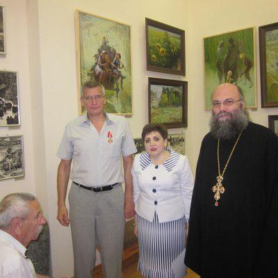 4. Поздравление Вице-Предводителя С.В.Ореханова с награждением Орденом Святого Станислава 3 степени.